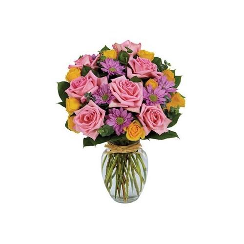 Homepage pinners flower shop spring brilliance bouquet mightylinksfo