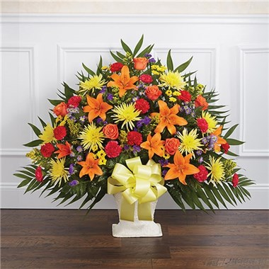 Multicolor_Bright_Funeral_Basket_3